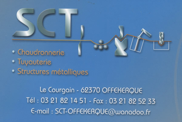 SCT Chaudronnerie Un site utilisant WordPress